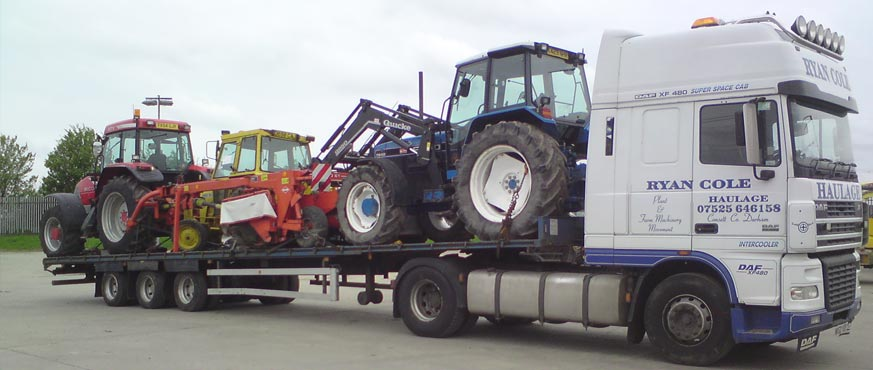 Ryan Cole Tractor Transport